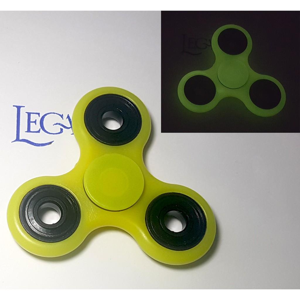 Con Xoay Tròn Hand Fidget Spinner 3 cánh DẠ QUANG 60-120 giây Legaxi HSI3