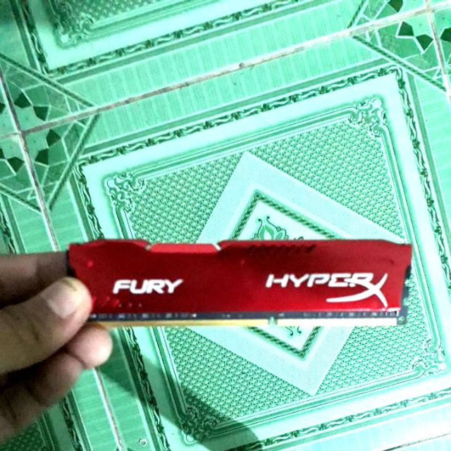 RAM TẢN NHIỆT KINGSTON HYPER 8GB DDR3 BUSS 1600 Giá chỉ 500.000₫