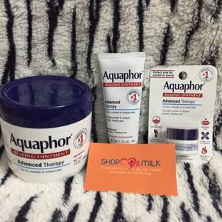 Kem Dưỡng Ẩm dành cho da khô, Nứt Nẻ Aquaphor Healing Ointment Advanced Therapy 10g, 50g, 396g USA thumbnail