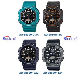 Đồng hồ nam casio FREESHIP Đồng hồ casio AQ-S810 kim điện tử AQ-S810WC-3A AQ-S810W-8A AQ-S810W-2A2 thumbnail