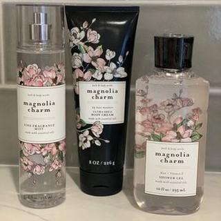 𝐅𝐞𝐦𝐦𝐢𝐞💝 Xịt Thơm Magnolia Charm Bath and Body Works