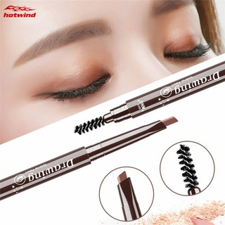 HW DNM Automatic Rotation Eyebrow Pen Long Lasting Natural Waterproof Anti-sweat Brow Makeup Tool thumbnail