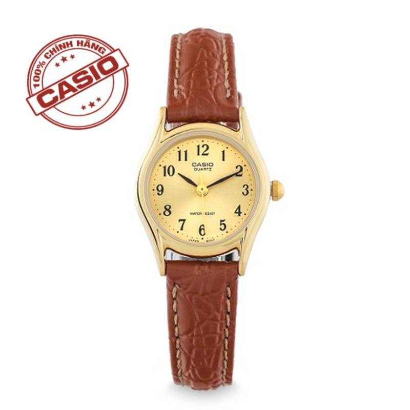 Đồng hồ Dây da  nữ chính hãng  Casio LTP-1094Q-9BRDF