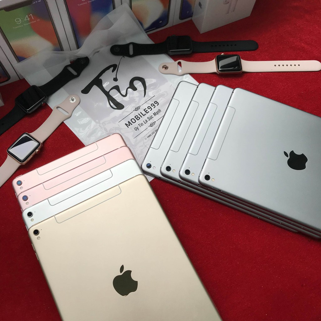 Máy Tính Bảng iPad Pro 9.7'' (Wifi + 4G) 32GB /128GB Chính Hãng - Zin Đẹp 99% - 4 Loa nghe phê - Màn sắc nét - MOBILE999 | SaleOff247