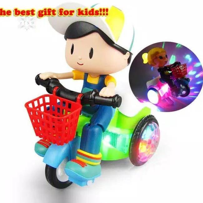 _➢ Đồ chơi xe đạp nhảy múa cho bé 03 tuổi