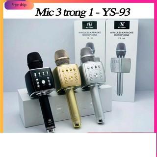 Mic Hát Karaoke Bluetooth không dây YS93