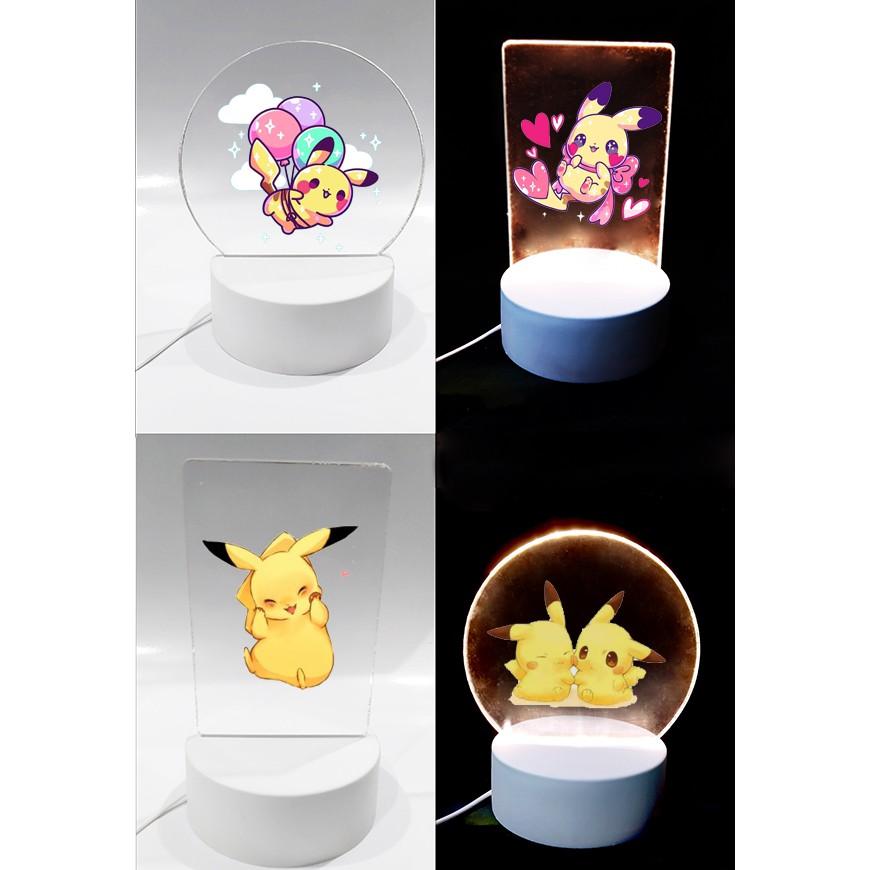 Đèn Led 3D chuột vàng DLI30 Đèn Ngủ 3D Sáng Tạo cute dễ thương