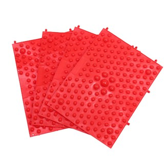 CP☆ Red acupuncture foot massager medical therapy mat foot massage pad