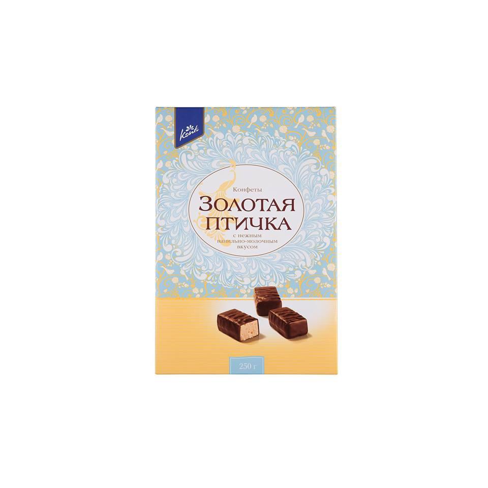 Kẹo socola Golden Bird Nga hộp 250g
