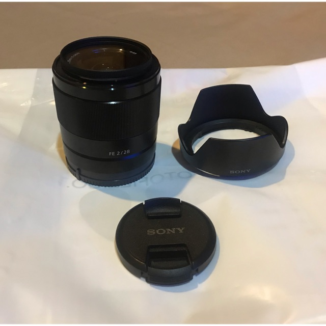 เลนส์ Sony FE28 F2 สภาพดีมาก ไม่มีรอย ใช้งานครอบคลุม น้ำหนักเบา