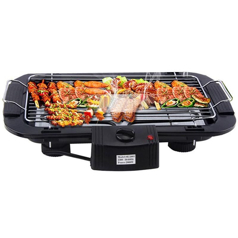 (freeship) Bếp nướng điện không khói Electric Barbecue Grill