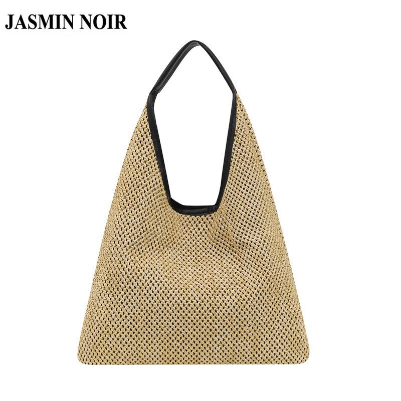 Túi Đeo Vai JASMIN NOIR Dành Cho Nữ Vải Cói Thời Trang Đi Biển