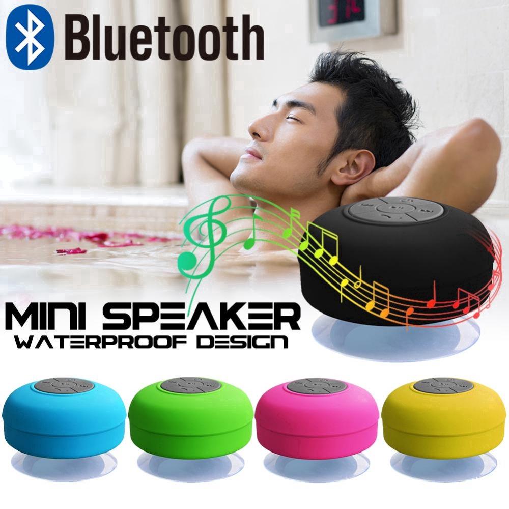 [Mã FSS09JAN hoàn 20% XU đơn từ 0đ]Loa Bluetooth chống nước có giác hút tiện lợi