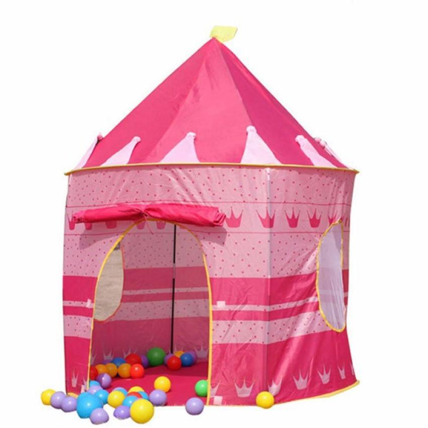 Lều bóng công chúa nhỏ (hồng)