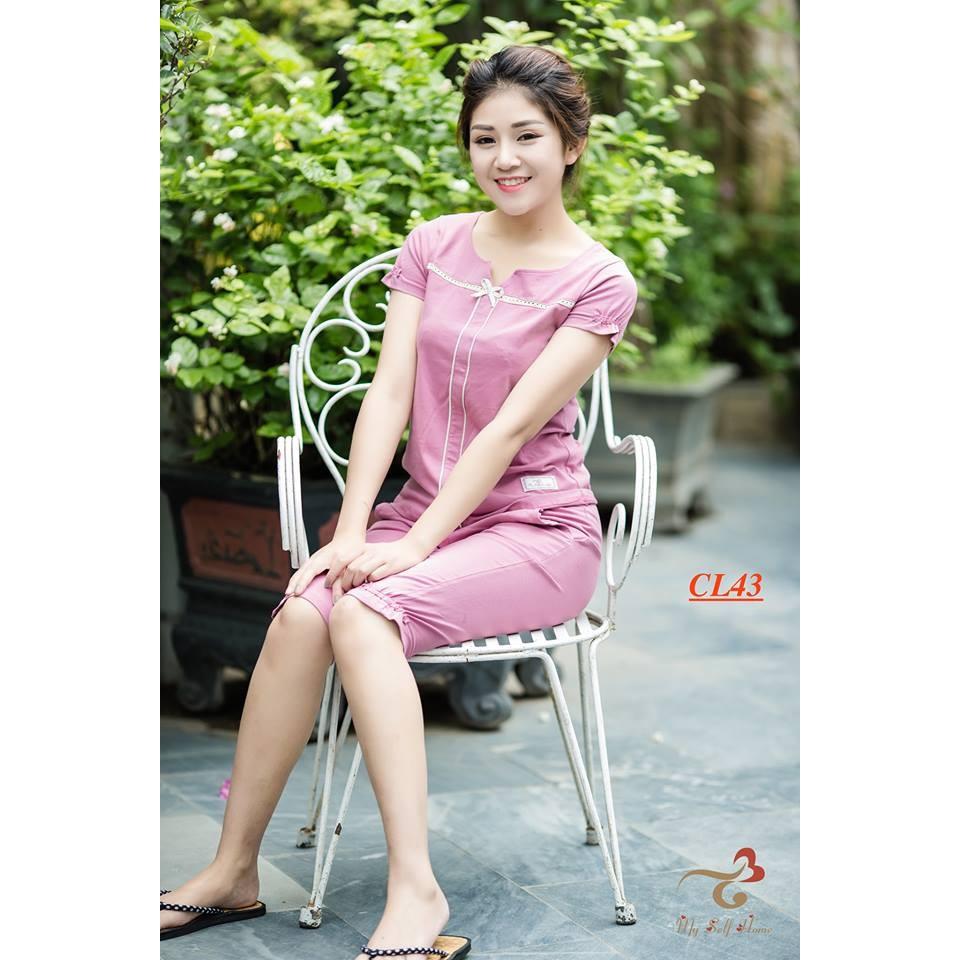 Bộ đồ mặc nhà 3T My Self Home - Bộ cotton áo cộc quần lửng CL43 - 2950967 , 276961868 , 322_276961868 , 355000 , Bo-do-mac-nha-3T-My-Self-Home-Bo-cotton-ao-coc-quan-lung-CL43-322_276961868 , shopee.vn , Bộ đồ mặc nhà 3T My Self Home - Bộ cotton áo cộc quần lửng CL43