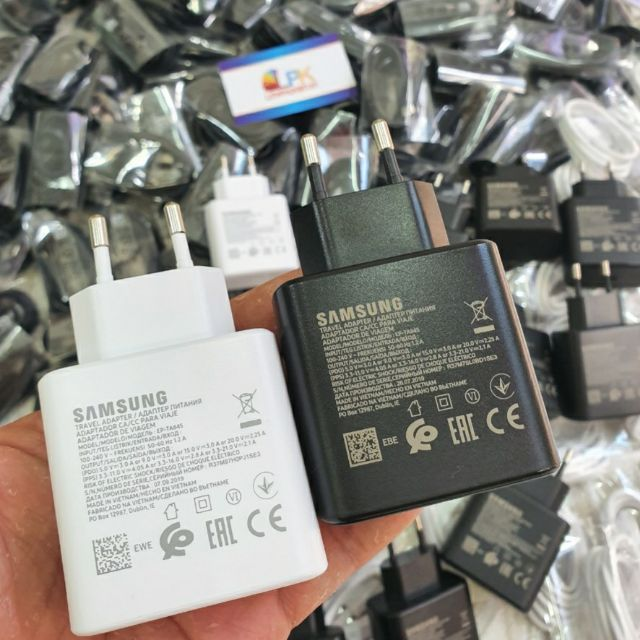 [Mã SKAMPUSHA7 giảm 8% đơn 250k]Sạc siêu nhanh Samsung 45W Super Fast Charging chính hãng