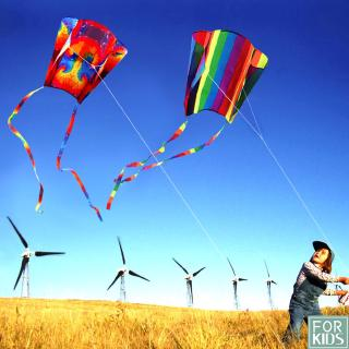 Colorful Mini Pocket Kite Flying Outdoor Toys Kid Adults Children Kite Flying Toys