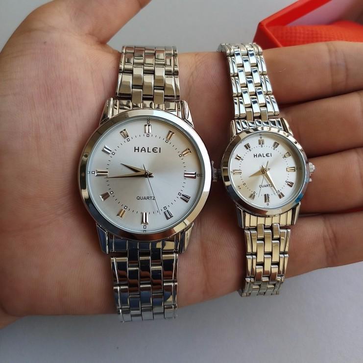 đồng hồ đôi giá rẻ thương hiệu halei cho các cặp đôi yêu nhau đồng hồ đôi giá rẻ thương hiệu halei cho các cặp đôi yêu nhau