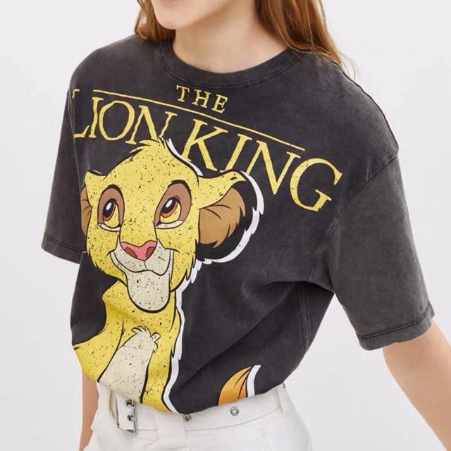 [Kèm ảnh thật] Áo thun Bershka Lion King