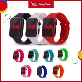 Đồng hồ điện tử màn hình kỹ thuật số LED thể thao cho nam và nữ