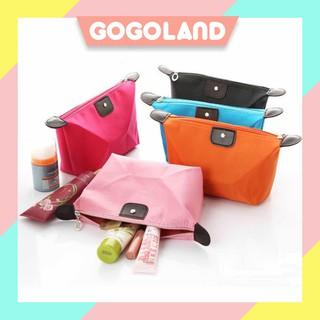 Túi đựng mỹ phẩm nhiều màu trơn thumbnail