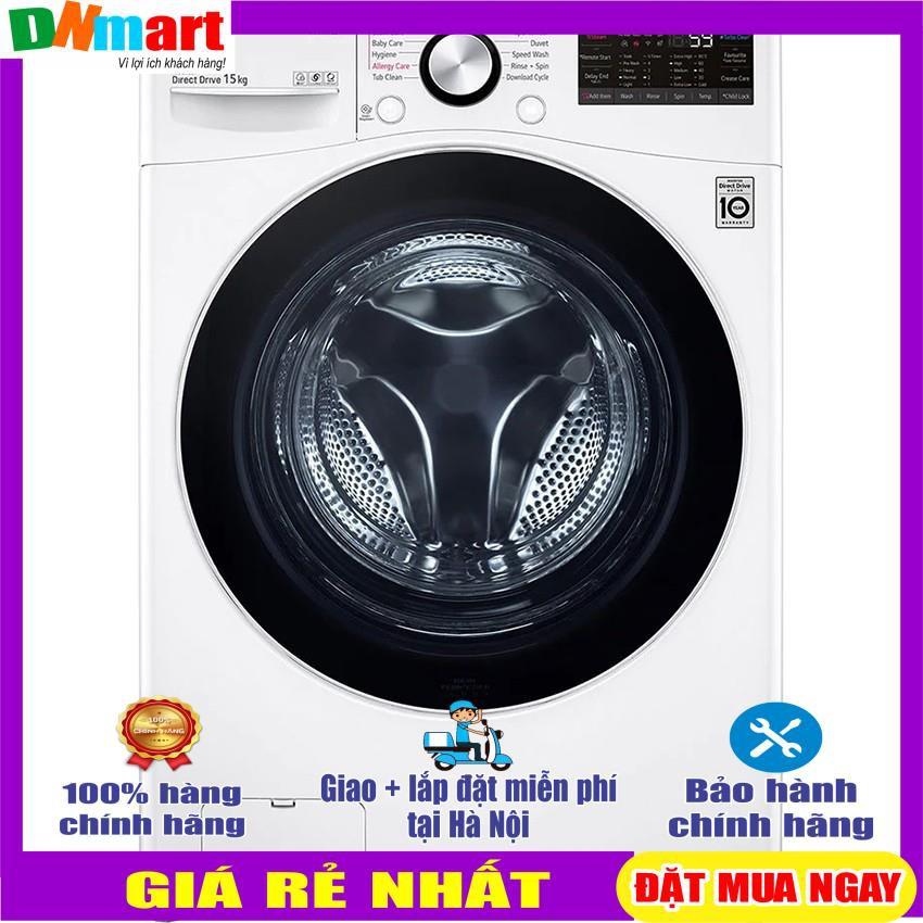 Máy giặt LG F2515STGW lông ngang inverter 15kg