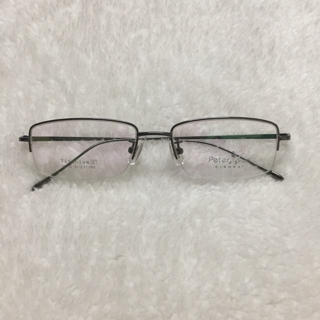 Gọng kính hàng bãi PETER SON xịn Titanium của nhật lắp mắt cận và lão dùng cực thích
