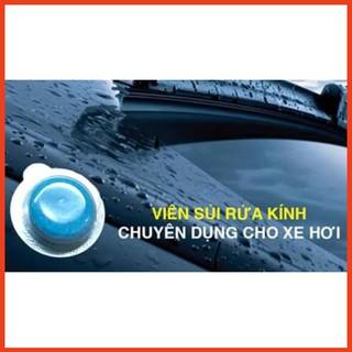 [ Loại Tốt ] 1 Viên sủi rửa kính xe chuyên dụng, chất tẩy rửa kính lái xe ô tô thumbnail