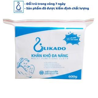 [LIKADO] Khăn vải khô đa năng Likado 600g (15*20) cho trẻ sơ sinh và trẻ nhỏ (600gr)(SP003041)