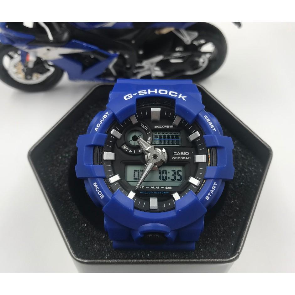 แท้ Casio G-Shock GA-700B-4นาฬิกาสำหรับกีฬาแฟชั่น