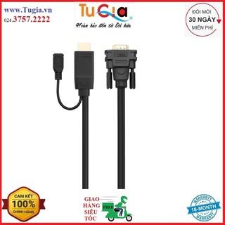 [Mã ELFLASH5 giảm 20K đơn 50K] Dây Cáp Chuyển Đổi HDMI To VGA Hỗ Trợ Nguồn Ugreen 30449 (1.5m) - Hàng Chính Hãng