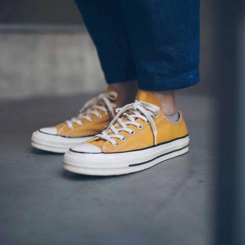 Giày converse 1970 vàng thấp cổ