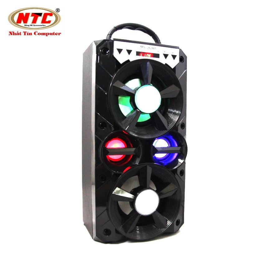 Loa bluetooth Karaoke xách tay NTC MS-262BT có đèn led - Công suất 12W (Màu ngẫu nhiên)