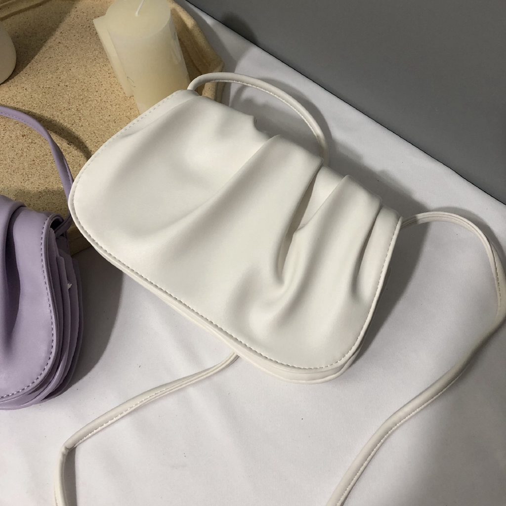 Túi đeo chéo hình đám mây xinh xắn cho nữ