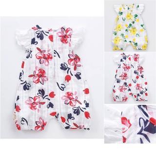 Body đũi vải cotton họa tiết hoa