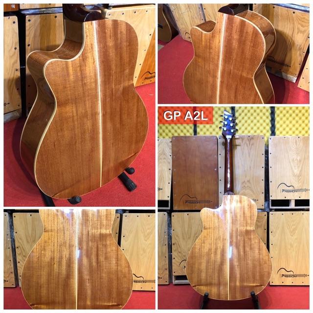 Đàn guitar acoustic gỗ Thông nhập khẩu 100% gỗ thịt nguyên tấm chất lượng cao Đàn ghita Acoustic cao cấp