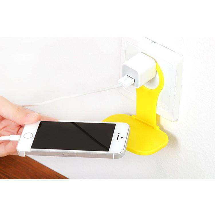 Giá đỡ sạc điện thoại gắn tường