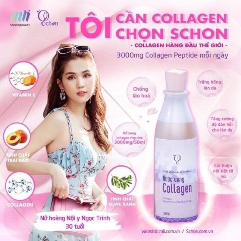 Nước uống COLLAGEN SCHON chính hãng công ty 100%