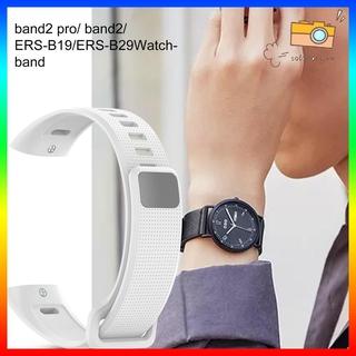Dây Silicone Màu Trơn Cho Vòng Đeo Tay Thông Minh Huawei Band 2 Pro