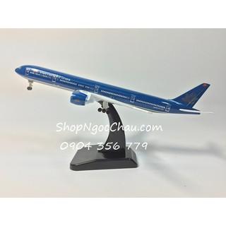 Mô hình máy bay tĩnh Boeing 777-300ER Vietnam Airlines 18cm