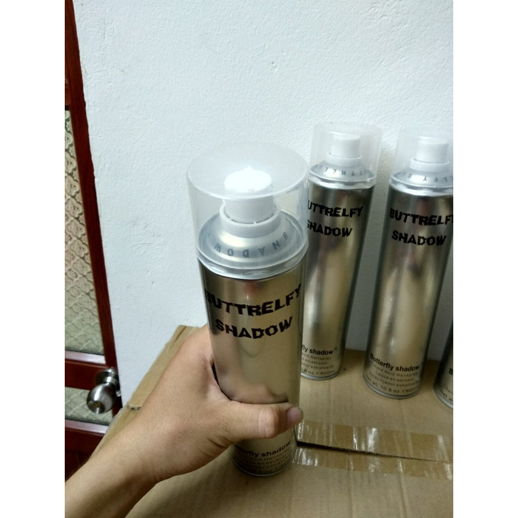 ✅ Freeship 40k combo 4 gôm xịt Butterfly Shadow 600ml cho salon