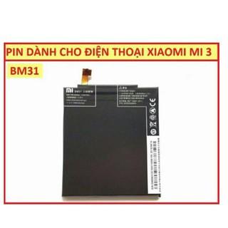 Pin cho máy xiaomi mi 3 BM31 mới 100% cực bền có bảo hành thumbnail