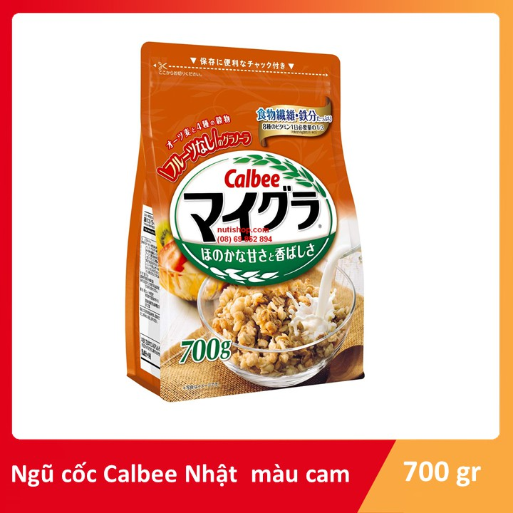 Ngũ cốc Cam Calbee Nhật bản 700 g