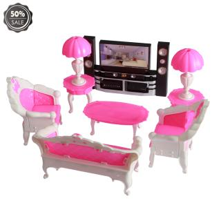 Dolls Accessories Pretend Play Furniture Set Toys dolls as Xmas Gifts for Kids