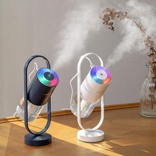 Máy phun sương tạo ẩm xông hơi V90 xoay 360 độ kèm đèn led 7 màu cực đẹp