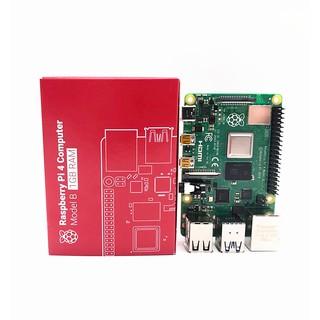 Máy Tính Raspberry Pi 4 1GB/2GB/4GB Made In UK, Bảo Hành 1 đổi 1