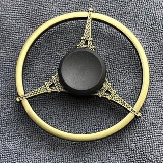 Con Xoay Fidget Spinner Kim Loại Cao Cấp Màu Đồng – Đồ Chơi Giảm Stress Hình Tháp Eiffel