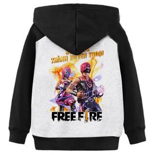 Áo Khoác Trẻ Em Free Fire Huyền Thoại Siêu Đẹp