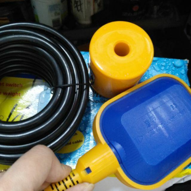 Phao điện bơm nước chống cạn chống tràn 2m-5m