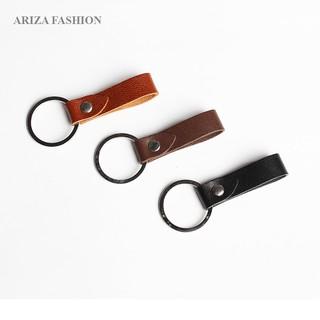 Combo 3 móc khóa Ariza da bò nguyên tấm